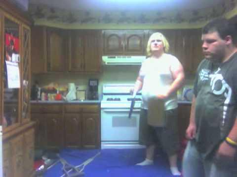 WSSR In the kitchen: Triple threat elimination last man standing match Part 1. 7-25-09