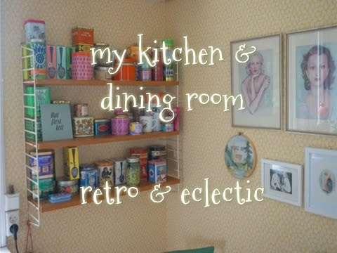 kitchen & dining room, retro & eclectic