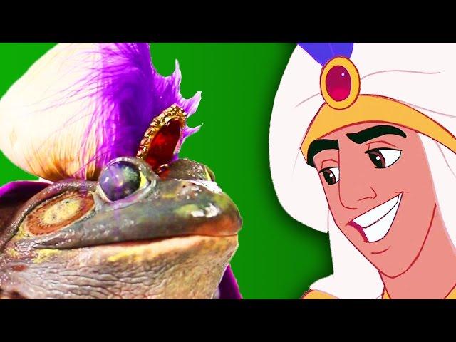 1 Frog, 4 Disney Prince Makeovers