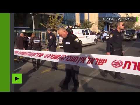 Un agent de sécurité israélien poignardé près de la gare routière de Jérusalem (VIDEOS)