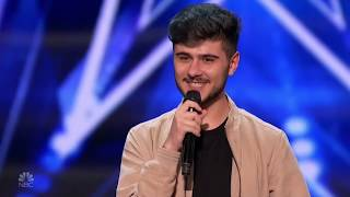 America's Got Talent 2020 Luca Di Stefano Sings Lets Get It On Full Performance S15E04