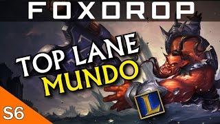 [Season 6] Top Lane Dr. Mundo Gameplay