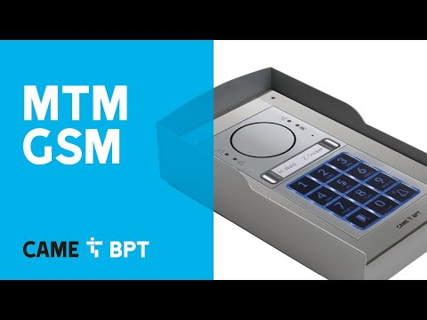 MTM GSM: audio entry kits brought to you by CAME