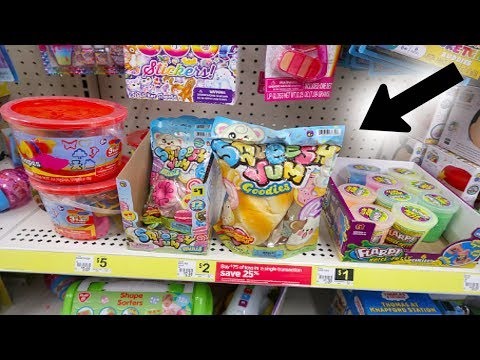 $1 SQUISHIES AT DOLLAR STORE! DOLLAR GENERAL VLOG