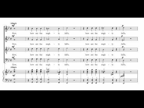 Händel HWV 264-08 How are the mighty fall'n