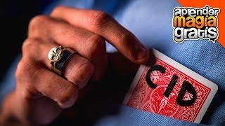 El mejor truco de magia con cartas revelado, explicado | Carta al bolsillo con firma