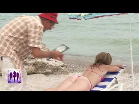 Голые и Смешные  Исследователь на пляже