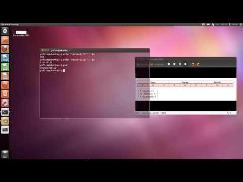 Met chmod permissies instellen in Linux