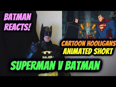 Superman V Batman ( Ft.The Epic Movie Trailer Voice ) REACTION by BATMAN