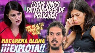 """💥¡PÁNICO EN PODEMOS!💥MACARENA OLONA ¡SE HARTA! y DESVELA TODOS los """"TRAPOS SUCIOS"""" de sus DIPUTADOS"""