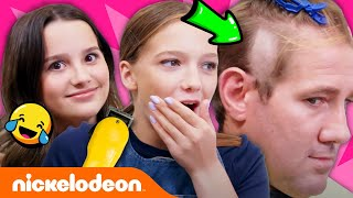 Annie LeBlanc & Jayden Bartels Run a Salon! 💇 Expert Attempters: Ep. 2 | Nick