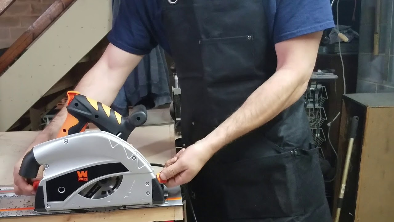 Review Wen 9 Amp Plunge Cut Circular Track Saw Home Depot Seeds Review
