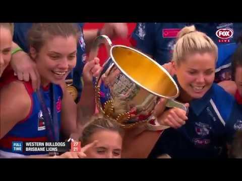 AFLW 2018 Grand final Western Bulldogs vs Brisbane Lions | Goals, behinds & highlights
