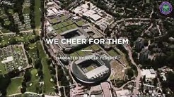 Narrated by Roger Federer - We are United in Hope | Wimbledon 2020