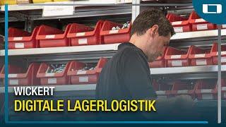 L-mobile warehouse im Einsatz bei Wickert Maschinenbau