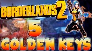 Infinite Gold Keys Borderlands 2