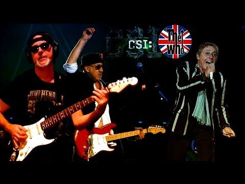 Baba O´Riley Live Subtitulada The Who & RollingBilbao CSI theme Guitar Cover HD