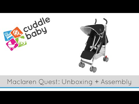 Maclaren Quest Stroller - Unboxing and Assembly