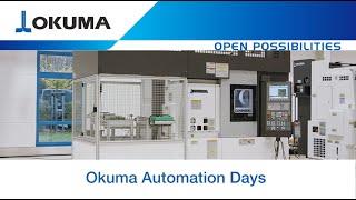 Automation Days 2020 - LU-S1600 mit Okuma Portalladesystem