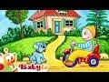 Bike & Hot Air Baloon | Colors and Toys | BabyTV