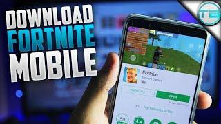 FORTNITE ANDROID GAMEPLAY APK LEAKED DOWNLOAD IN DESCRIZIONE