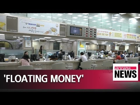 Amount of floating money in Korea hits US$ 988 bil. in March