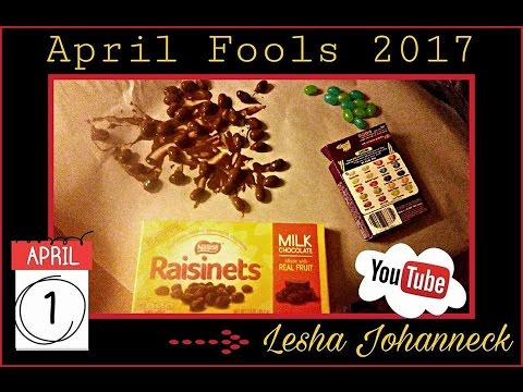 Epic April fools pranks on my kids Chocolate injected w/Habenero sauce & choco covered beanboozled..