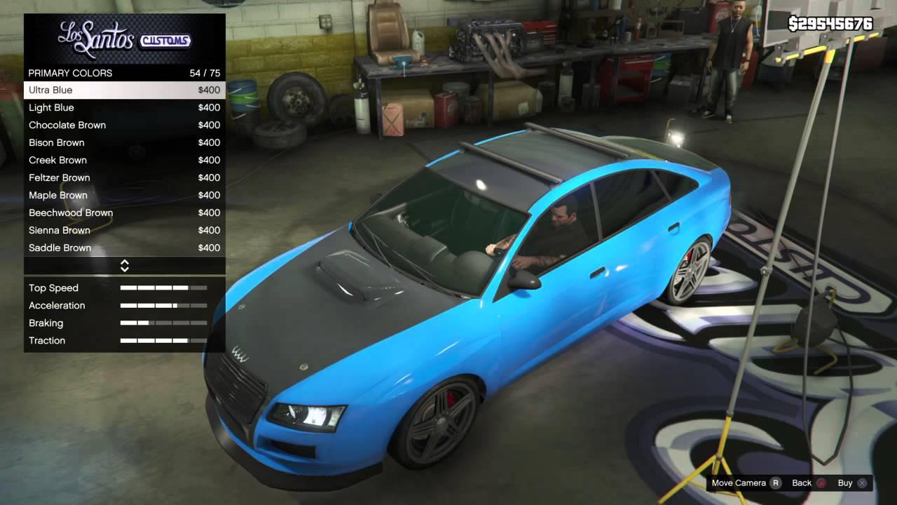 GTA Cool Car Customization YouTube - Cool car customizations
