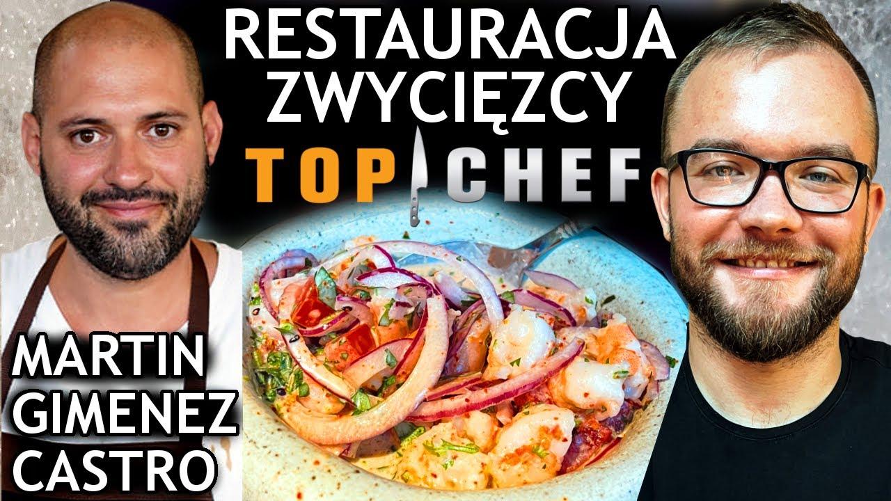 RESTAURACJA ZWYCIĘZCY TOP CHEF POLSKA - Martin Gimenez Castro: Ceviche Bar,  Warszawa   GASTRO VLOG