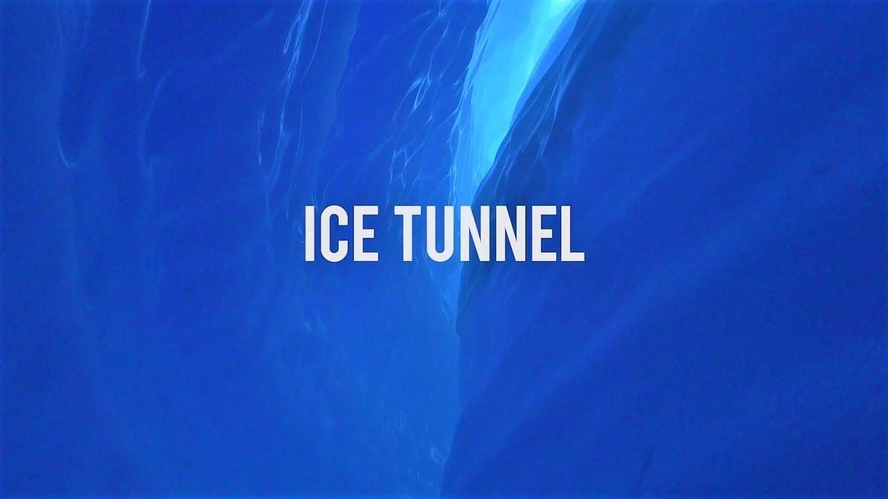 ホワイトデザート社のアクティビティ(アイストンネル)