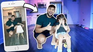 MOST BELIEVABLE INVISIBLE PRANK ON PENELOPE!!!