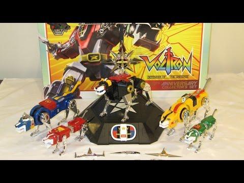 Toynami Voltron 30th Anniversary Collector's Set