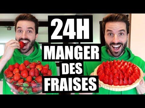 JE MANGE QUE DES FRAISES PENDANT 24H - CARL IS COOKING