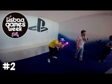 LISBOA GAMES WEEK #2 EXPERIMENTEI OS VR  :D DIA 05/11/2015