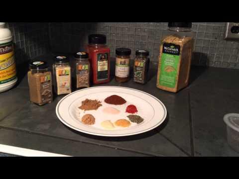 21 Day Fix- Seasoning Mixes