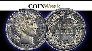 Million Dollar 1894-S Barber Dime Purchased by John Feigenbaum. VIDEO: 4:01.