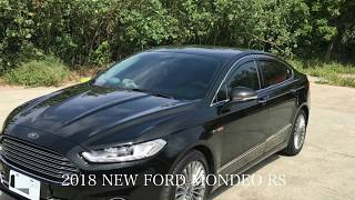 All-New 2019 Ford Mondeo Rs
