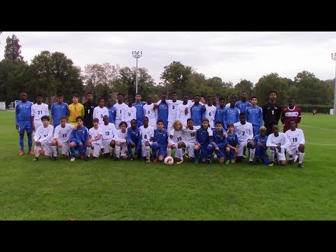 18/10/17 Drancy JA U14 - Match amical Sélection INF Clairefontaine Vs Drancy JA