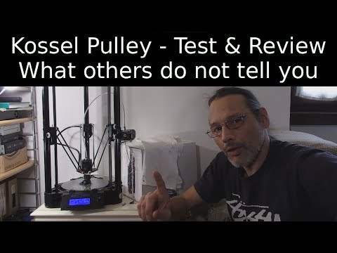 Anycubic kossel Pulley Review - What others do not tell you - ITA Sub EN
