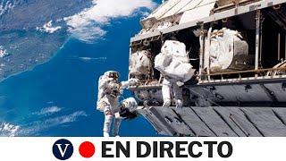 DIRECTO: Los astronautas de la NASA Rubins y Glover salen de la EEI