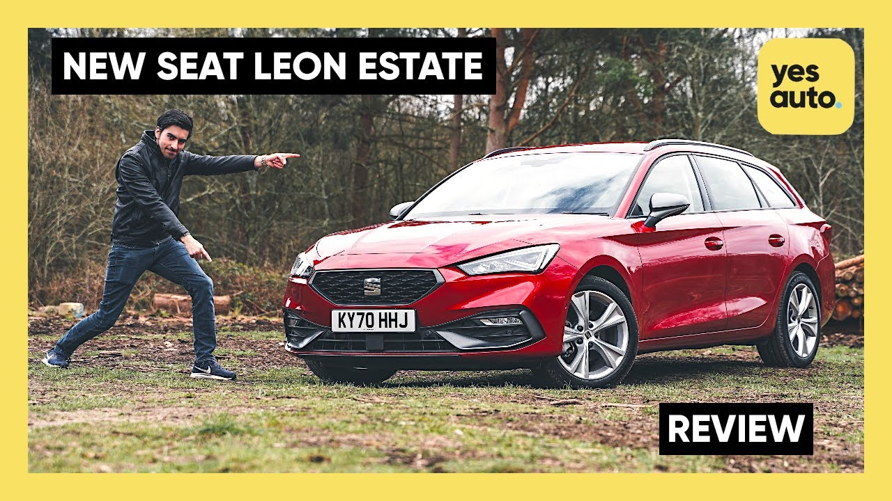 Seat Leon Estate Review 2021 : See in what ways it beats the VW Golf!