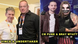 10 Weirdest WWE Friends in Real Life - CM Punk & Bray Wyatt, Vince McMahon & The Undertaker