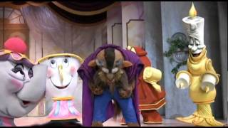 beauty and the beast show at hollywood studios