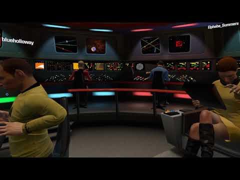 Star Trek Bridge Crew - Hugging Asteroids in Ep4 Enterprise