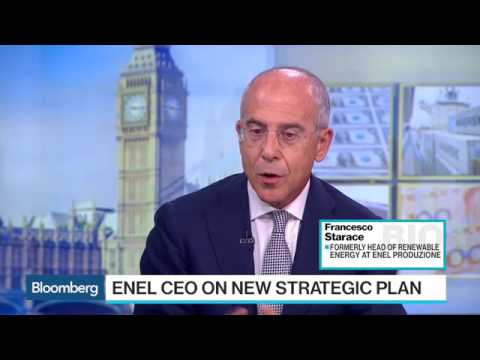 Enel CEO Finds Value Outside of Energy Distribution   Bloomb