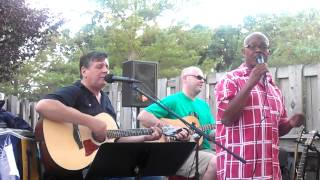 """To Love Somebody"" Fran Smith Jr, Dave Kelly and Lenny Lake 7/10/12 Westmont, NJ"