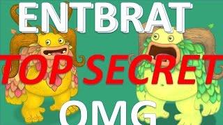 Entbrat and Rare Entbrat have got SECRET! Nobody knows! BORN? OMG!! - My Singing Monsters