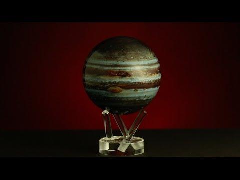 Jupiter Solar Spinning Globe from ThinkGeek
