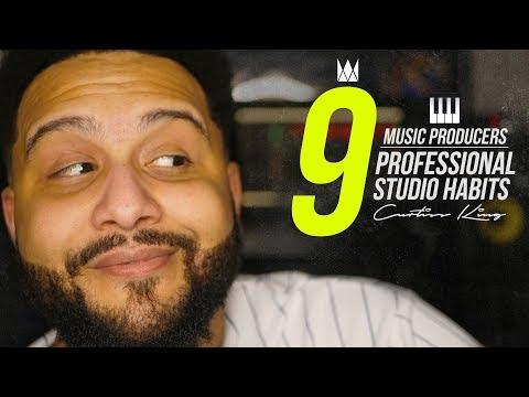 9 Professional Studio Habits Of Successful Music Producers