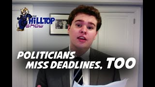 Polldemonium with Capitol Hillmann: Politicians Miss Their Paperwork Deadlines Too